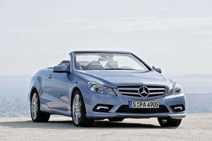 2009-'12 Mercedes-benz e-class