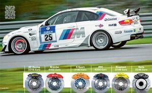 3. Тест тормозных систем для bmw m3 (ap racing, k-sport, brembo, pfc, stoptech)