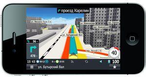 3D-навигация ipad и iphone с пробками