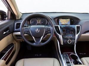Acura tlx: спорт-седан бизнес-класса