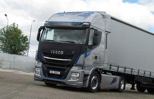 Аэродинамический обвес для грузовика ивеко