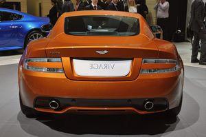 Aston martin virage – обновление 2011 года