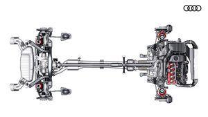 Audi a4 и новый кроссовер ttq будут оснащаться полноприводной трансмиссией e-quattro