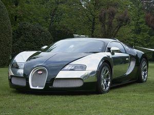 Автомобиль bugatti veyron 16.4