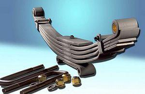Автомобильные рессоры и особенности рессорной подвески