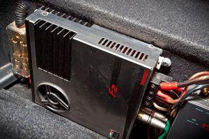 Автомобильный усилок audio system twister f2-130