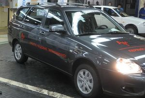 Автоваз начал выпуск lada priora с амт