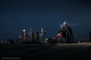 Batman выбирает отдых в россии.