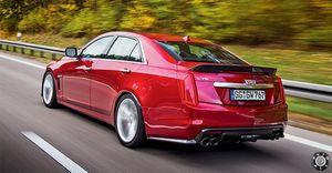 Cadillac cts-v – американский конкурент заряженной бмв 5-й серии