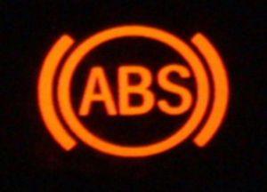 Что делать, если загорелась лампочка abs?