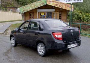 До конца октября «автоваз» соберет 250 lada granta