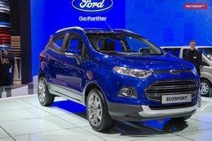 Ford ecosport собирается стать лидером в сегменте компактных кроссоверов
