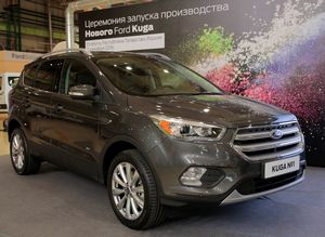 Ford kuga будет выпускаться «полным циклом»