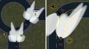 Ford научит свои автомобили подсвечивать пешеходов