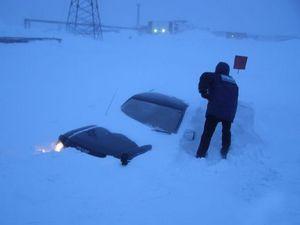 Фото: суровые зимы норильска (часть 1)