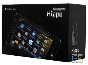 Highscreen hippo - планшетный компьютер? или коммуникатор? или смартфон...
