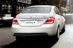 Индийский седан renault scala