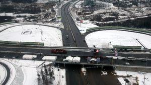 Известны расценки проезда по трассе москва – санкт-петербург