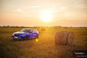 Jaguar f-pace first edition — #трехдневный тест-драйв