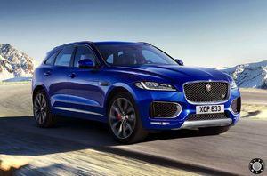 Jaguar f-pace по характеристикам очень похож на рендж ровер