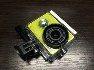 Экшен камера xiaomi yi и аксессуары