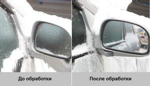 Как предотвратить обледенение лобового стекла