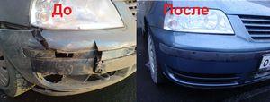 Как скрыть мелкие трещины на пластиковом бампере автомобиля