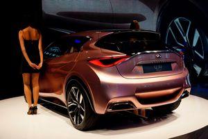 Компания infiniti готовит к выпуску компактное авто q30
