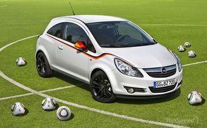 Компания opel подготовила подарок своим поклонникам – новый автомобиль corsa football championship edition