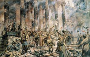 Кто-же водрузил знамя победы над рейхстагом? дню победы посвящается. часть i.