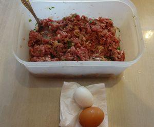 Кухня ленивого мужчины(ч.11):люля -кебаб + полоски из слоеного теста !