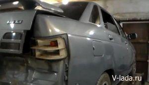 Кузовной ремонт ваз 2114 видео
