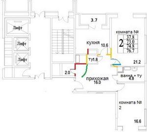 Квартира. планировка и штробление. часть 1