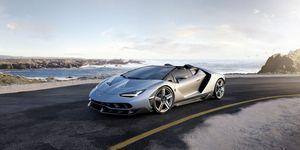 Lamborghini asterion - бензоэлектрический уникум из болоньи