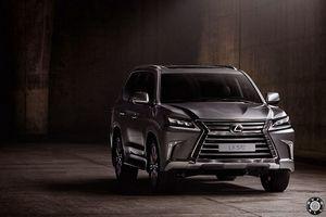 Lexus lx с новой внешностью и новой начинкой