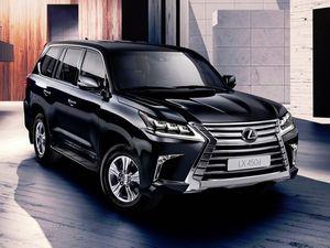Lexus lx впервые получил дизель