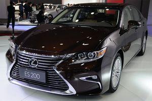 Lexus официально представил седан es 2016 модельного года