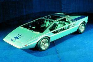 Maserati boomerang (1971) — шедевр автодизайна