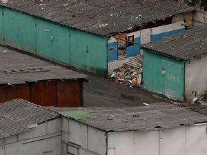 Массово сносят гаражи в москве