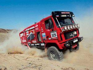 Маз будет делать на продажу гоночные грузовики - аналогичные тем, на которых белорусы выступают на дакаре