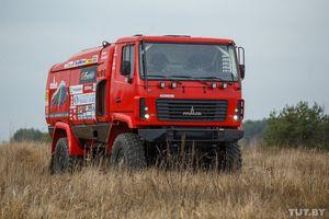 Маз-спортавто показала, на чем команда поедет на дакар - 2015. фоторепортаж auto.tut.by