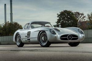 Mercedes-benz 300slr uhlenhaut coupe 1955 год.
