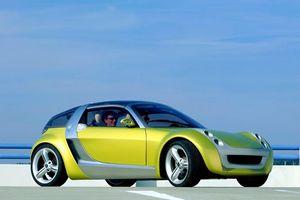 Мини-спорткар roadster от smart
