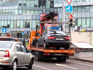 Московские эвакуаторщики не платят штрафы за нарушение правил движения
