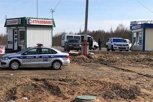 На границе россии и беларуси построен пост, на котором взимают штрафы за превышения скорости с иностранцев