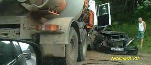 На трассе н.новгород – касимов произошла жуткая авария.