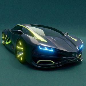 Немцы разработали концепт сверхлегкого спорткара