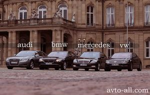 Немецкие автомобили во всей красе