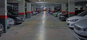Ночная парковка в запрещённых для стоянки местах!