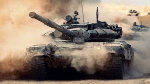 Новая игрушка 1/16 танк т-72.